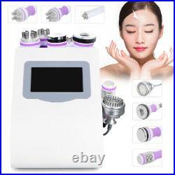 8in1 40K Cavitation Body Slimming Ultrasonic Vacuum RF Radio Frequency Machine