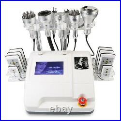 8in1 40K Vacuum Ultrasonic Cavitation RF Fat Reduce Body Slimming Beauty Machine