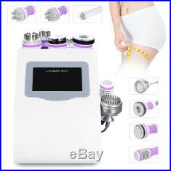8in1 Micro Current 40K Cavitation Ultrasonic Vacuum RF Lifting Beauty Machine