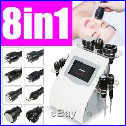 8in1 Ultrasonic Cavitation RF Radio Frequency Bio Cooling Hammer 3Mhz Machine
