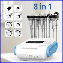8in1 Ultrasonic Cavitation Vacuum RF Radio Frequency Cellulite Slim Spa Machine