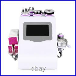 9-1 LED Ultrasonic Cavitation 40K Vacuum RF Body Slimming Cellulite Machine