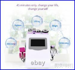 9-1 Ultrasonic Cavitation Machine RF Vacuum Face Body Slimming Machine Contour