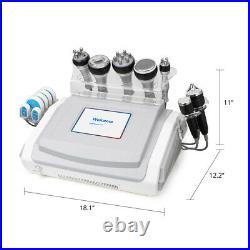 9-1 Ultrasonic Cavitation Multifunction RF Vacuum Radio Frequency Beauty Machine