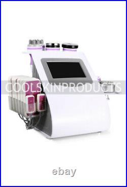 9-1 Ultrasonic Cavitation RF Vacuum Radio Frequency Body Slimming Machine
