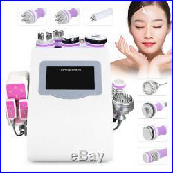 9 IN 1 40K Ultrasonic Cavitation RF Vacuum Photon&Micro Current Beauty Machine