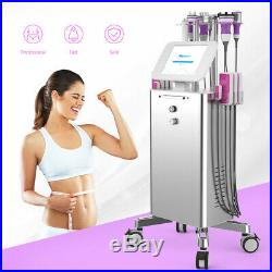 9 In 1 Ultrasonic Cavitation Vacuum RF LED Light Body Cellulite Slimming Machine
