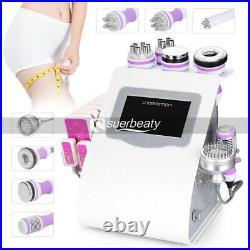 9 In 1 Ultrasonic Vacuum Cavitation Machine RF Bio Cold Body Slimming Machine