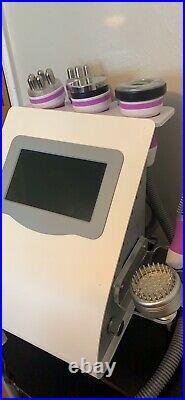 9 In 1 Vacuum Ultrasonic Cavitation2.0 40K RF Body Slimming Cellulite Machine