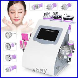9 in1 Ultrasonic Vacuum Cavitation RF Frequency Body Slim Cellulite Machine