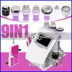 9in1 40K Ultrasonic Cavitation RF Radio Frequency Vacuum Slimming Cold Machine
