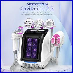 9in1 Cavitation 2.5 Vacuum RF Body Shape Beauty Machine Bio+Photon Cold Hammer