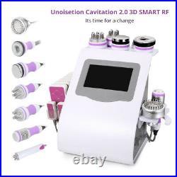 9in1 Ultrasonic 40K Cavitation Radio Frequency Vacuum RF BIO Slimming Machine US