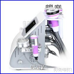 9in1 Ultrasonic Cavitation Vacuum Multipolar RF BIO Cold Hammer Slimming Machine