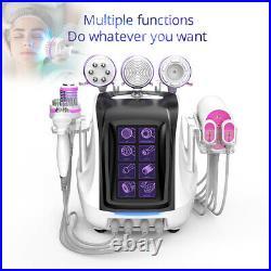9in1 Ultrasonic Weight Loss Cavitation 2.5 Vacuum Microcurrent RF Machine Spa