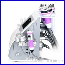 9in1 Ultrasonic Weight Loss Cavitation Vacuum Multipolar RF Machine Body Sculpt