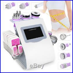 9in1 Vacuum Ultrasonic Cavitation 40K RF Body Slimming Cellulite Beauty Machine