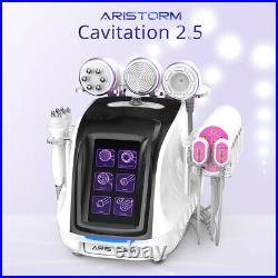 Aristorm 6IN1 Cavitation 2.5 Ultrasonic RF Vacuum Slimming Machine Fat Loss
