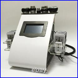 Beauty Salon lipo cavitation machine 6 in 1ultrasonic RF laser anti cellulite