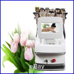 Bipolar RF Ultrasonic Cavitation Vacuum Photon Slim Cellulite Lifting Machine