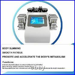 Body Slimming Vacuum Machine-6in1 Ultrasonic Cavitation RF Multifunction Massage