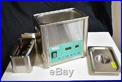BrandMax U-5Lh Dental Ultrasonic Cleaner Cavitation Bath Heater Machine