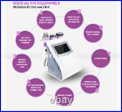Cavitation Body Slimming RF Vacuum LED Ultrasonic Machine 40K Fat Loss Weight