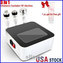 Cavitation RF Radio Frequency 3in1 Ultrasonic Vacuum Slimming Anti Aging Machine
