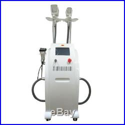 Cool sculpting body slimming Freezing ultrasonic cavitation RF salon use machine