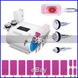 Fat Freeze Machine Cooling Ultrasonic Cavitation RF Body Contour Removal LED Spa