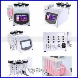 Fda Approved 6in 1 Ultrasonic Cavitation Radio Frequency Slimming Machine Vacuum