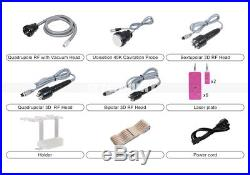 Free 1Mhz Ultrasonic 6In1 40K Cavitation 2.0 Slimming RF Fat Removal Machine