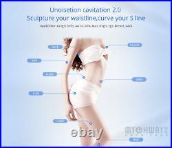 Homeuse 40K Ultrasonic Cavitation Vacuum RF Cellulite Slimming Machine Inch Loss