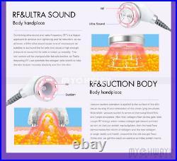Mini S Shape Ultrasonic Cavitation Vacuum Radio Frequency Fat Burning Machine EL