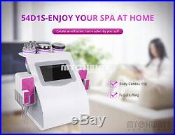 Multifunction RF Ultrasonic Cavitation Body Contour Slim Fat Loss Salon Machine