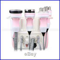Pink 5-1 Vacuum Ultrasonic Cavitation Radio Frequency RF Body Slimming Machine