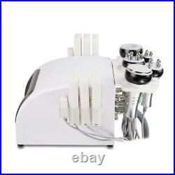 Portable Vacuum Ultrasonic RF Lipo 6 In 1 Cavitation Machine laser slimming