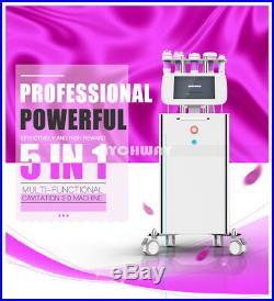 Pro 40k Ultrasonic Cavitation Ultrasound Vacuum RF Cellulite Slimming Machine a