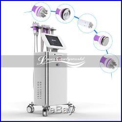 Pro 5 in 1 Ultrasonic Cavitation Radio Frequency Slim Machine Vacuum Body Stand