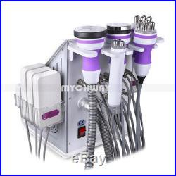 Pro 6in1 Ultrasonic Cavitation Radio Frequency RF Vacuum Slimming Beauty Machine