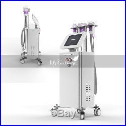Pro Standing Ultrasonic Cavitation 40K RF 5-1 Vacuum Body Slimming Machine Spa