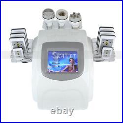 Professional Ultrasonic Cavitation Lipo RF Vacuum Massge Fat Reduction Machine