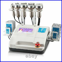 RF Lipo Slimming Vacuum Ultrasonic Cavitation Machine 6 in 1 Laser Weight Loss