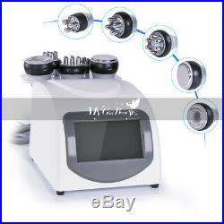 RF Vacuum 5in1 Cellulite Removal Ultrasonic Slimming Machine 40K Cavitation Spa