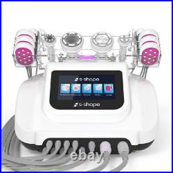 RF Vacuum Cavitation EMS Cellulite Removal Ultrasonic Slimming 5in1 Machine Spa