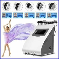 RF Vacuum Ultrasonic Cavitation 5 IN 1 Radio Frequency Body Slimming Machine SPA
