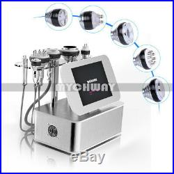 Radio Frequency Ultrasonic Cavitation RF Vacuum Slimming Cellulite Machine+GIFT