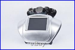 Radio Frequency Ultrasonic Cavitation Tripolar Bipolar RF Skin Lift Slim Machine