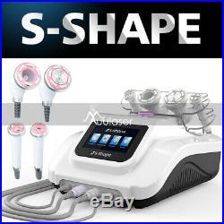 S-SHAPE EMS Vacuum RF Skin Rejuvenation ultrasonic cavitation slimming machine