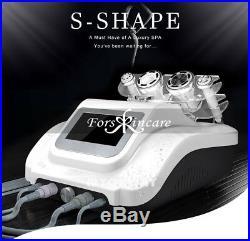 S-SHAPE Ultrasonic Cavitation RF Vacuum EMS Slimming Machine High Frequency Spa